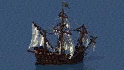 Medieval Small Carrack Minecraft