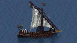 Medieval Small Galley Minecraft Map & Project