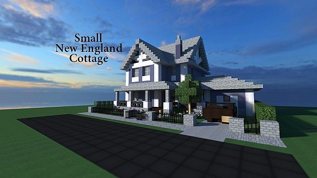 Strange Small New England Style Cottage Made By Nammerbom Download Free Architecture Designs Osuribritishbridgeorg