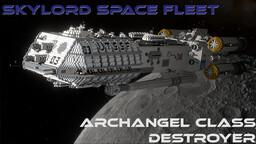 Archangel-Class Destroyer [FULL INTERIOR] Minecraft Map & Project