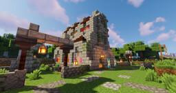 Oakburrow v0.07 Minecraft Map & Project