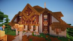 Pear ~ Tudor style Mansion Minecraft Map & Project