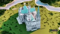 Chartres Cathedral(with download) Minecraft Map & Project