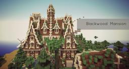 Blackwood Mansion [Medieval] |WoK| Minecraft Map & Project