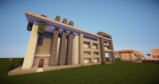 Modern House New Styles Minecraft Project