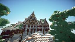 Winter Mansion Minecraft