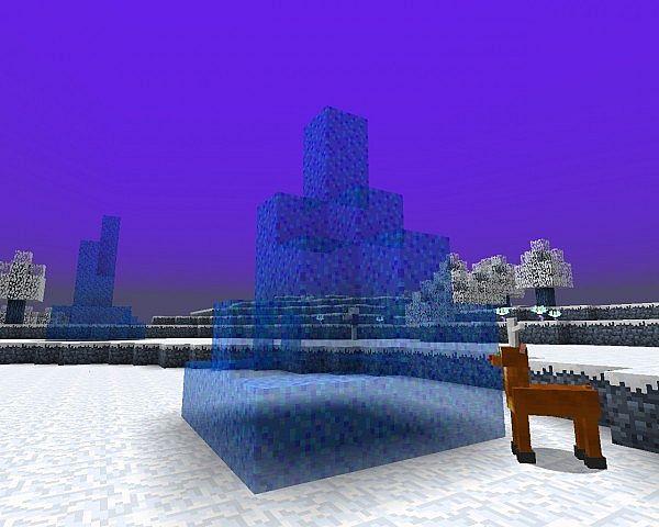 Magic ice pole