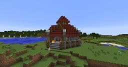 Warcraft III Orc Baracks Minecraft Map & Project