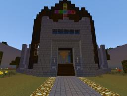 Easy to navigate server spawn, includes shop, rules, a jail. and a trophy room Minecraft Map & Project