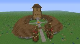 Orcish Great Hall XL Minecraft Map & Project