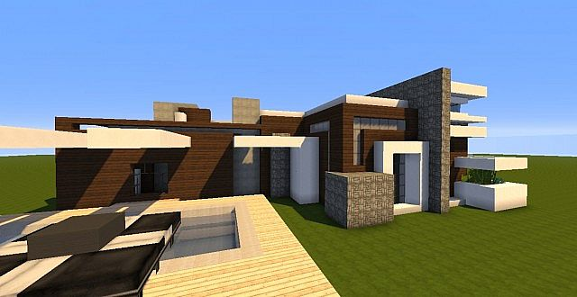 Novus modern house minecraft project for Modern house projects