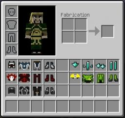 Avatar - Armor texture PACK Minecraft Texture Pack