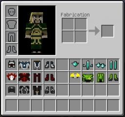 Avatar - Armor texture PACK Minecraft Texture Pack