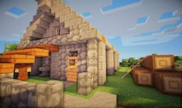 Medieval Lodge Minecraft Map & Project