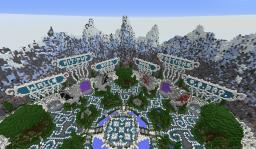 MineVast Network Spawn Hub Minecraft Map & Project