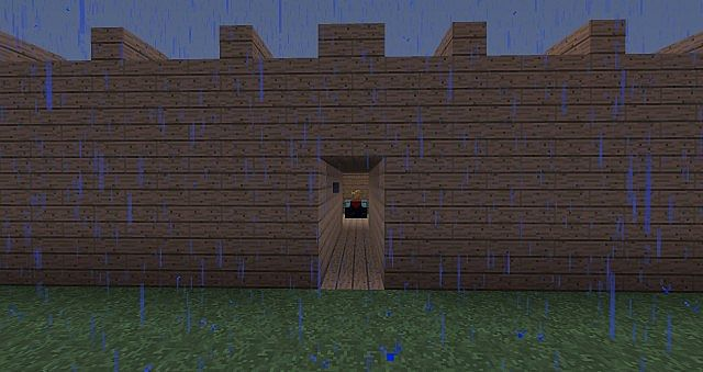 minecraft how to make a hidden room
