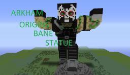 Arkham Origins Bane Statue + Download! Minecraft Map & Project