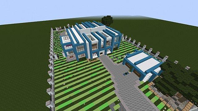 Symmetry A Modern Mansion Minecraft Project