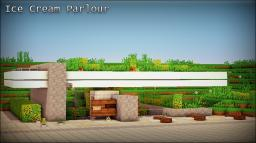 [Modern] Ice Cream Parlour Minecraft Map & Project