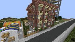 Very moody Restaurant Minecraft Project