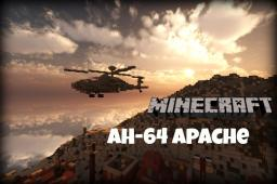 AH-64 Apache Helicopter Minecraft Map & Project