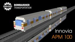 Bombardier Innovia APM 100 Minecraft Map & Project