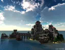 Cliff Fortress 2014 Minecraft Project