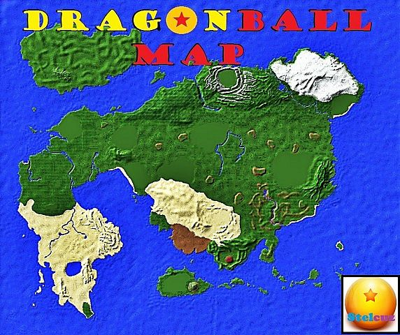 Dragon ball all history map minecraft project db island gumiabroncs Gallery