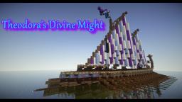 Byzantine Dromon Warship: Theodora's Divine Might Minecraft Map & Project