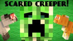 why creepers are scared of cats