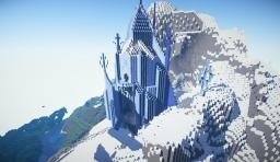 Elsa's Ice Castle + Arendelle Castle! Minecraft Map & Project