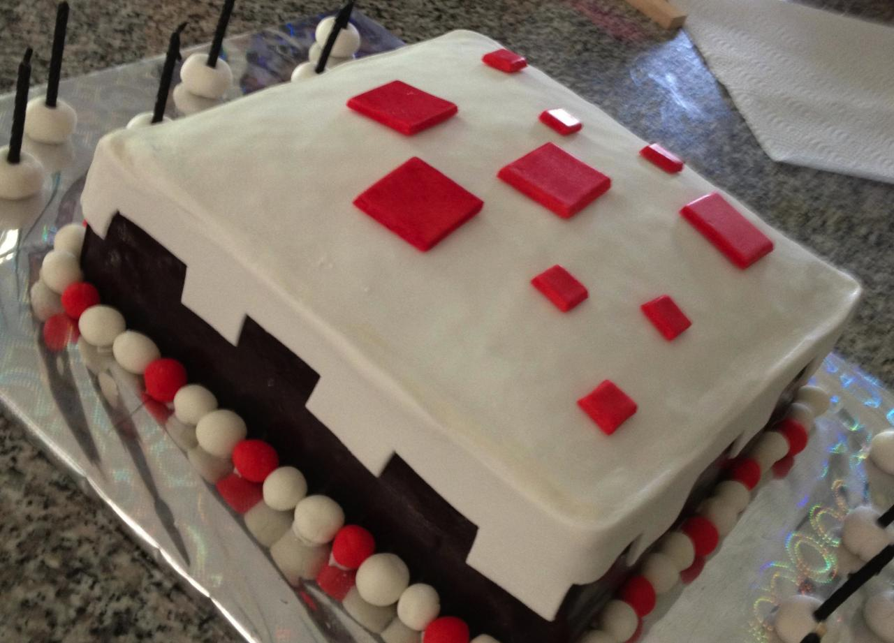 Minecraft Cake In Real Life! ERMAHGERD! Minecraft Blog