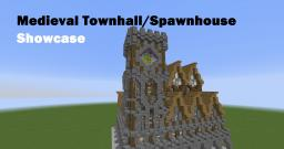 Medieval Townhall/Serverspawn Minecraft Map & Project