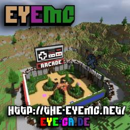 Server Lobby {4 Servers} {Meadow} {EyeMC} Minecraft Map & Project