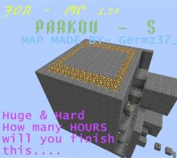 [Germz37_]ParkoUs V1.6 for MC 1.8+ - A big parkour map for peoples who like parkour - Challenge 9/10 COMPLETED!!! Minecraft Map & Project