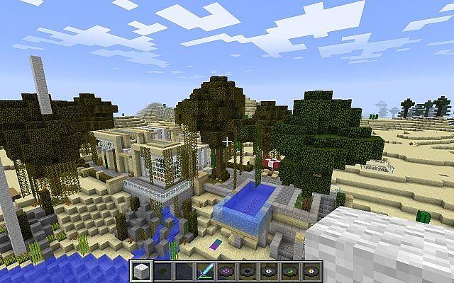 Bill Gate S Modern House Minecraft Project