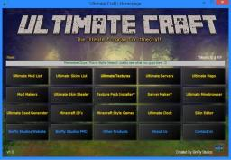 [Alpha] Ultimate Craft [WIP] [Feature Your Content]