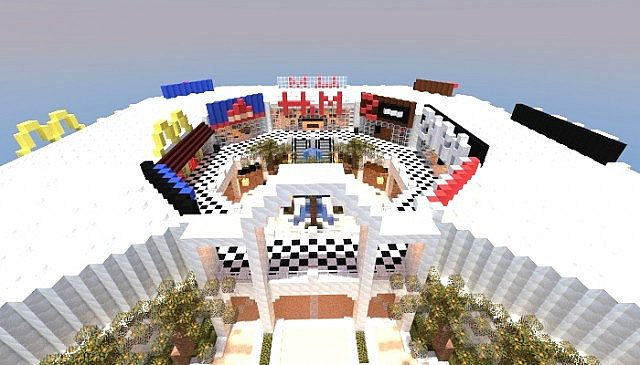 Minecraft shopping center minecraft project for Craft com online shopping