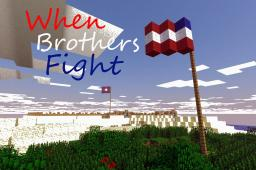 When Brothers Fight: Civil War adventure map Minecraft Project