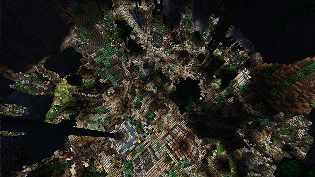 Epic Dwarven City + [ Download ] Minecraft Project