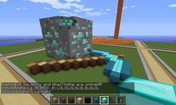 Old Plot Server Diamond Ore Pixel Art Minecraft Map & Project