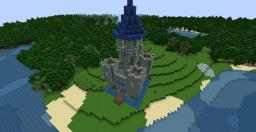 Small Blue Castle (now with download) Minecraft Project