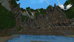 Himladrym valley, a medieval / steampunk village ! ( download + texture pack ) Minecraft Map & Project