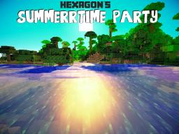 Hexagon's Summerime Party Shader Pack [1.7.10] Minecraft Mod
