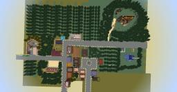 Gravity Falls Town Minecraft Map & Project
