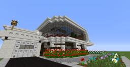 Retro-Modern House 1 Minecraft Map & Project