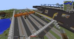 Train Loading Crane Minecraft Map & Project