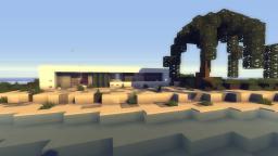 Box_ ⊂minimalistic modern house⊃ Minecraft Map & Project