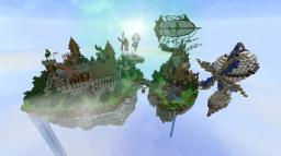 Floating Keep Minecraft Project