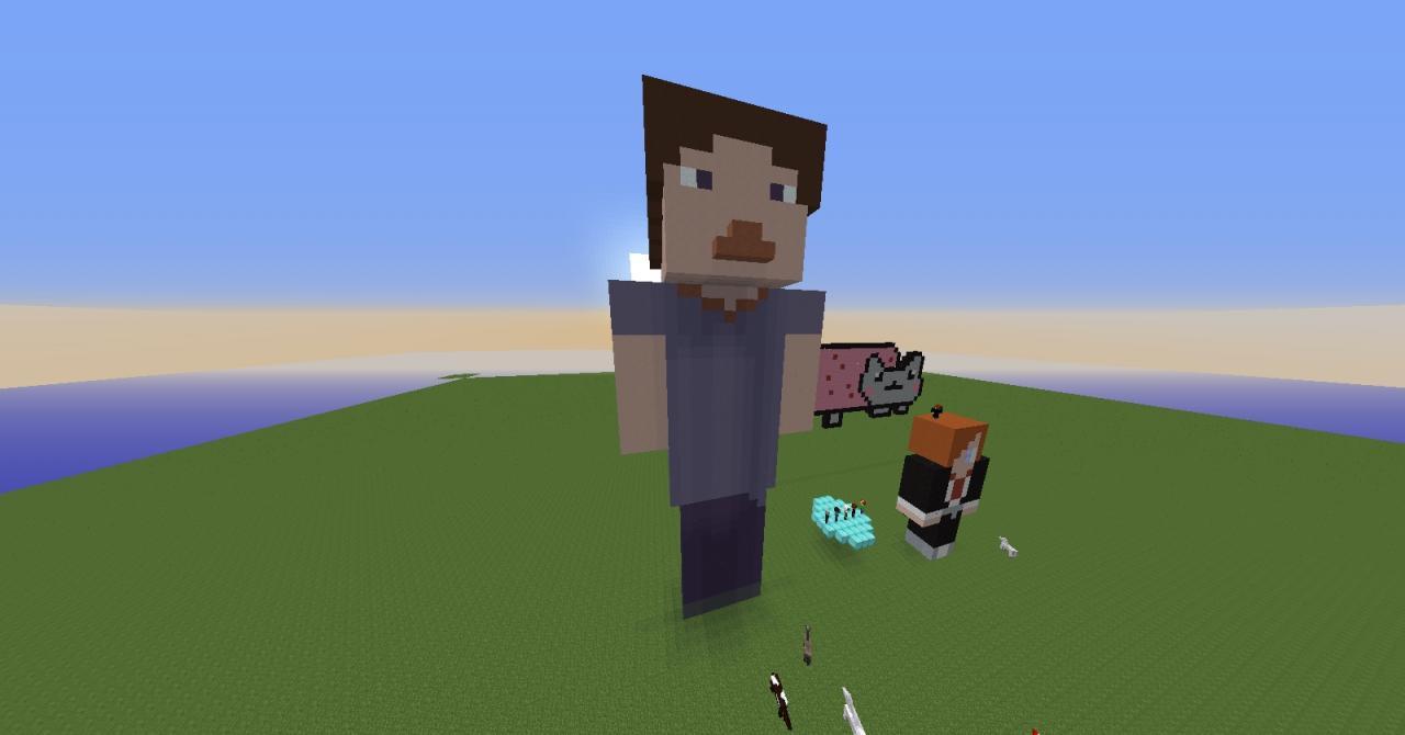Minecraft Pixel Art Templates Thor Skuyzi pixel art. 1 diamonds